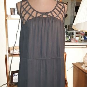 Lane Bryant caged front maxi dress SZ 18/20